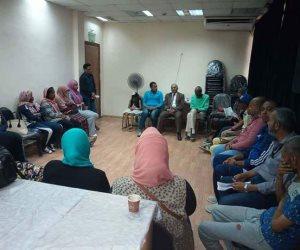 رئيس إقليم جنوب الصعيد الثقافي يتابع مهرجان مسرح الشباب بأسوان (صور)