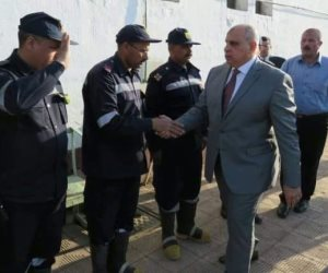 مدير قطاع السجون يتفقد نزلاء سجن دمنهور (صور)