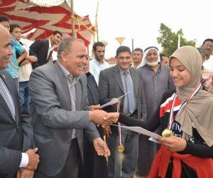 مركز شباب بئر العبد يحتفل بالعيد القومي وتحرير سيناء (صور)