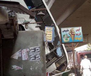 سقوط «مينى باص» صفط ووفاة السائق والنيابة تباشر التحقيق (القصةالكاملة)