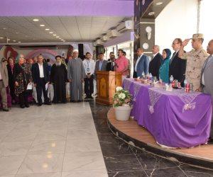 محافظ بنى سويف يكرم 141 من أسر الشهداء والأمهات المثاليات والأيتام