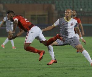 ياسر عبد الرؤوف عن لمسة اليد في مباراة الأهلي والأسيوطي: ليست ركلة جزاء
