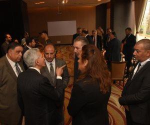 سلطان وقابيل يحضران توقيع برتوكولات تعاون على هامش منتدى الأعمال بالإسكندرية (صور)