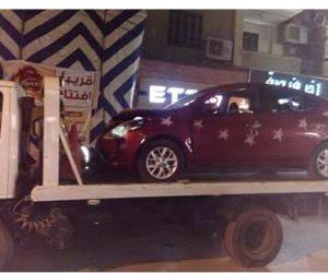 إصابة شخصين أثناء استعراض شاب بسيارته في حفل زفاف بالمنوفية