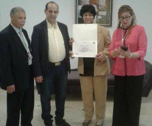 ملتقى «المبدعات العربيات» في تونس يكرم مدير تحرير صوت الأمة (صور )