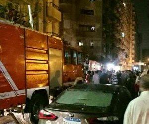 شهود عيان: حريق محدود بمخلفات قمامة خلف مستشفى دار الشفاء بالعباسية