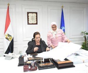 نادية عبده تعتمد المخططات التفصيلية لبعض المناطق بالبحيرة