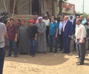 الداخلية في قرية أبو الغيط.. إستعادة أراضي الدولة وإبادة «دواليب المخدرات» (صور)