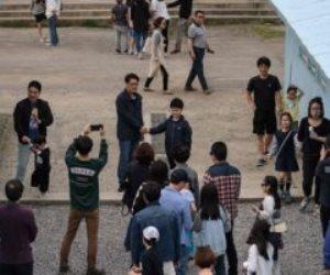 محاكاة مشاهد القمة بين الكوريتين فى فيلم سينمائى