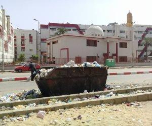 رغم حملة «النظافة مسئولية الجميع».. القمامة وباء بشوارع أسوان (صور)