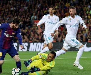 أهداف مباراة برشلونة وريال مدريد اليوم الأحد 6 / 5 / 2018 في الدوري الاسباني (فيديو)
