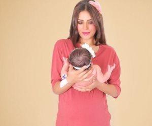 كلمات مؤثرة من «ريهام أيمن» لطفلتها الثانية في ذكرى ميلادها على «الانستجرام» (صور)