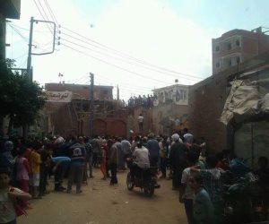 محافظ الشرقية يشكل لجنة لمتابعة حادث انهيار جزء مسجد ببلبيس