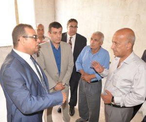 رئيس جامعة المنصورة يتفقد التوسعات بكلية طب الأسنان (صور)