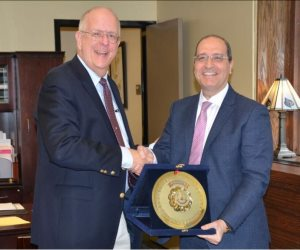 بروتوكول تعاون بين جامعة المنصورة ولويفيل الأمريكية