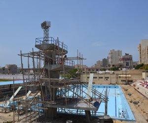 رئيس جامعة الإسكندرية يتفقد تطوير استاد الجامعة بتكلفة إجمالية 7 مليون (صور)