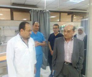 «رئيس تأمين الدلتا» يتفقد مستشفى المنصورة بالدقهلية ويطمئن على سير العمل