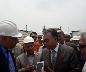 إنشاء جراج متعدد الطوابق بميناء الإسكندرية بتكلفة 285 مليونا ( صور )
