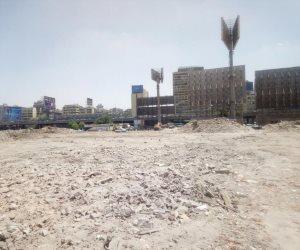 نائب محافظ القاهرة يتفقد رفع أنقاض «مثلث ماسبيرو»