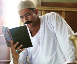 محمد رمضان يروج لمسلسله «نسر الصعيد» بصورة من الكواليس