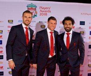 وصول محمد صلاح لحفل اختيار أفضل لاعب فى ليفربول (صور)