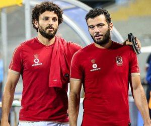 عماد متعب يودع حسام غالي: «متقولش مع السلامة»
