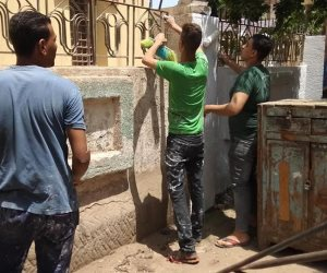 شباب ببا يطلقون مبادرة لتنظيف وتجميل المساجد قبل شهر رمضان المبارك