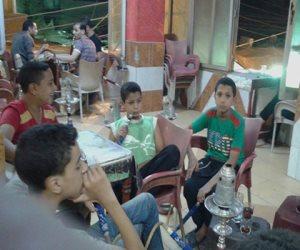 شابوا قبل الآوان.. «أطفال الدخان» ضحايا المقاهي