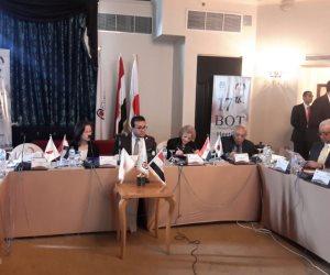 وزير التعليم العالي يترأس اجتماع مجلس أمناء الجامعة المصرية اليابانية (صور)