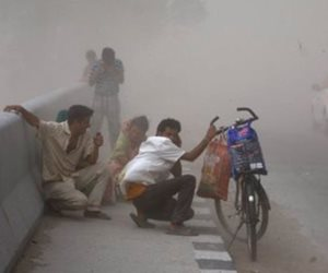 ارتفاع عدد قتلى العواصف الرعدية فى الهند إلى 70 شخصا