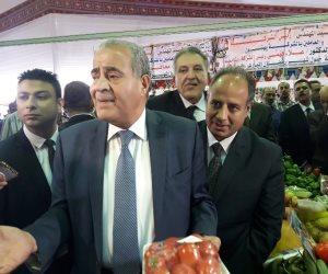 وزير التموين: معارض أهلا رمضان لتخفيف العبء عن أهالي الإسكندرية (صور)