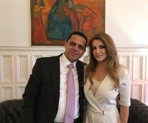 نائب «الهرم» يعقد قرانه على سويدية بسفارة مصر باستوكهولم بحضور السفير (صور)