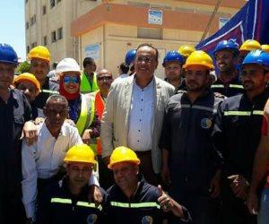 «الناجح يرفع ايده».. محطة مياه بالإسكندرية تحصل على شهادة الإدارة الفنية المستدامة