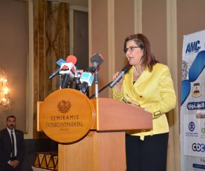 هالة السعيد تشهد تكريم شخصيات ومؤسسات بارزة في أول عيد للإدارة المصرية