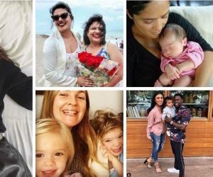 """شاهد.. فى دقيقة مشاهير العالم يحتفلون بـ""""Mother's Day"""""""