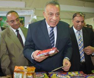 التخفيضات تصل إلى 25 %.. محافظ الجيزة يفتتح معارض أهلا رمضان بمشاركة 82 شركة