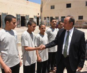 محافظ الإسكندرية يفتتح أعمال تطوير عنابر الإقامة بدار الرعاية الاجتماعية
