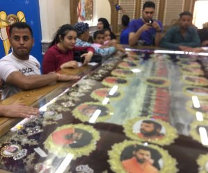 وضع رفات 20 شهيدا حادث ليبيا في مزار  كنيسة «شهداء الإيمان والوطن» بقرية العور بالمنيا