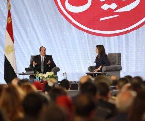 اسأل الرئيس.. السيسي للشعب: «انتم النووي الحقيقي»