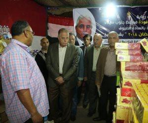محافظ جنوب سيناء يتفقد معرض أهلا رمضان في شرم الشيخ بتخفيضات من 15 إلى 30% (صور)