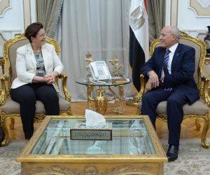 وزير الإنتاج الحربي يبحث مع شركة تاليس مستجدات التعاون المشترك بين الجانبين