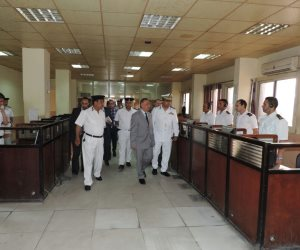 مدير أمن الإسكندرية يوجه ضباط النجدة بسرعة الانتقال إلى محل البلاغ (صور)