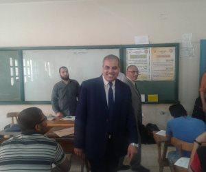 رئيس جامعة الأزهر يتفقد لجان الامتحانات بكليات مدينة نصر