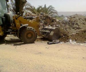 محافظ سوهاج يشن حملات نظافة على القرى والمدن (صور)