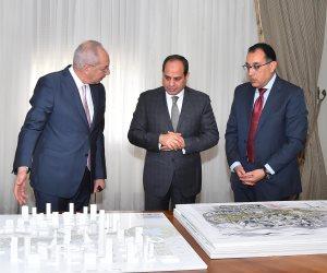 الرئيس السيسي يؤكد أهمية مواصلة الارتقاء بالبنية التحتية في المشروعات