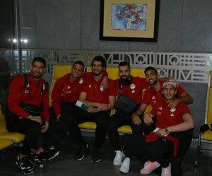 بدون صلاح وصورته.. المنتخب الوطني يطير إلى الكويت (صور)