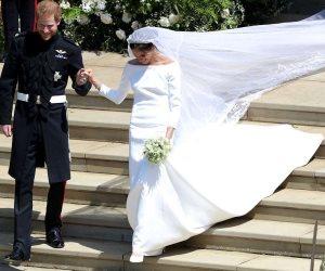 كم تكلف فستان ميجان ماركل؟ (صور )