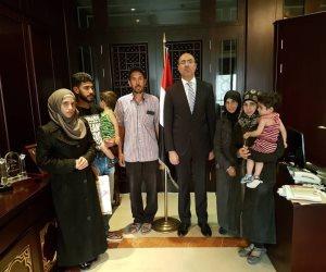 سفارة مصر بسوريا تنجح في إخراج المحتجزين المصريين من الغوطة الشرقية