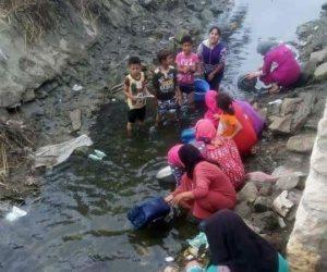 أين السيدة الأستاذة المحافظة؟.. مياه الصرف الصحي المصدر الرئيسي للشرب في البحيرة (صور)