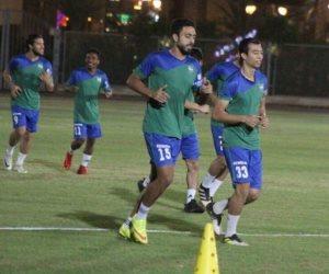 طلعت يوسف يستعد للموسم الجديد بلقاء مع لاعبى مصر المقاصة